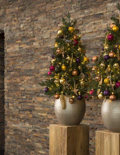 kerstdecoraties huren Kerstboompjes verhuur horeca