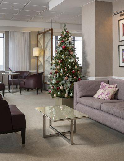 Kerstboom volgedecoreerde huren