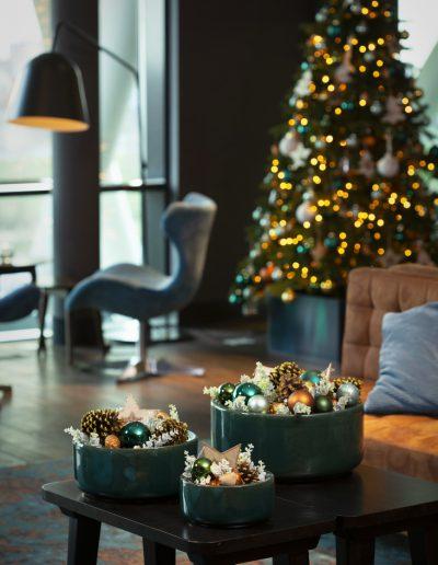 Kerst in Stijl kerststyling hotels