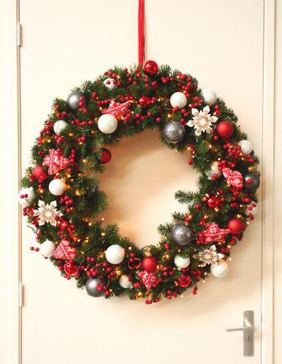 Kerstkrans Dansk Jul