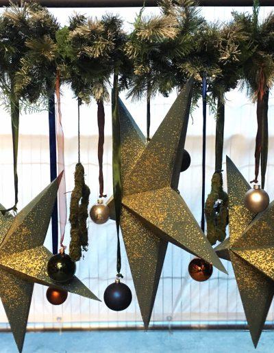 Kerststerren verhuurconcept