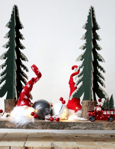 Kerststuk Dansk Jul kerstverhuur