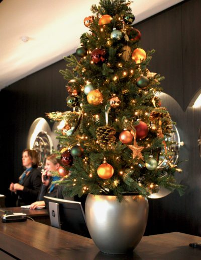 Kerststyling hotels