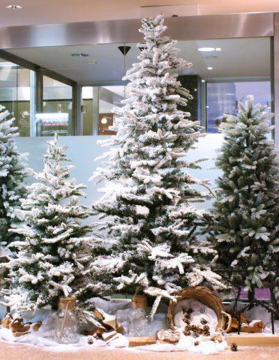 Winter wonderland kerstbomen verhuur