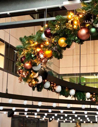 Kerst in Stijl kerstslinger kerstversiering