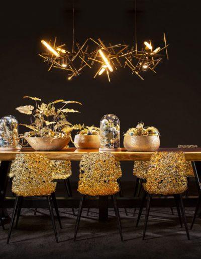 KerstinStijl Gouden kerststukken