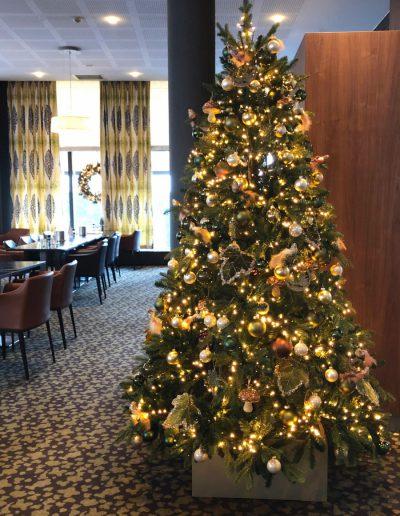 Kerststyling hotel Kerst in Stijl