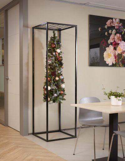 Zwart kerstframe kerstdecoratie