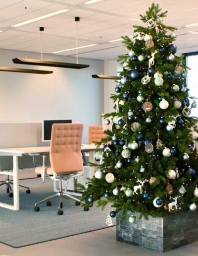 kerstboomverhuur kantoor bedrijf