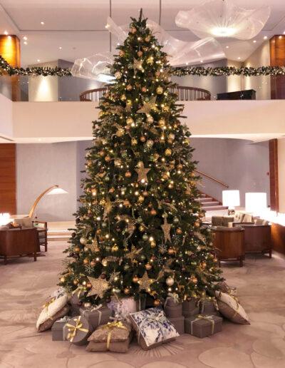 Hotel Okura Kerstsfeer