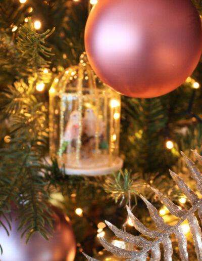 Kerstballen kerststyling