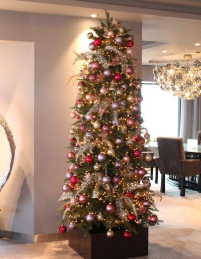 Kerstboom 3 sterren restaurant