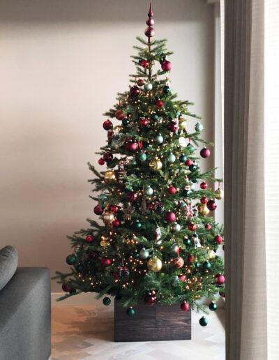 Kerstboom huren Amerikaanse Stijl