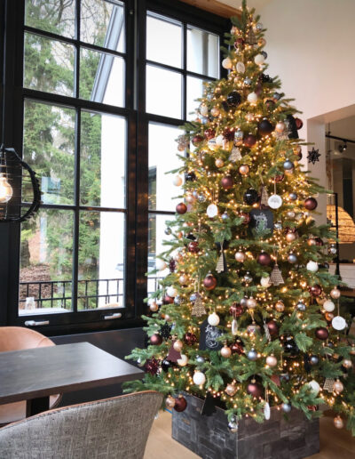 Kerststyling Hotel