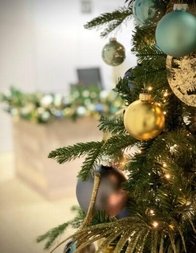 Kerstversiering voor kantoren